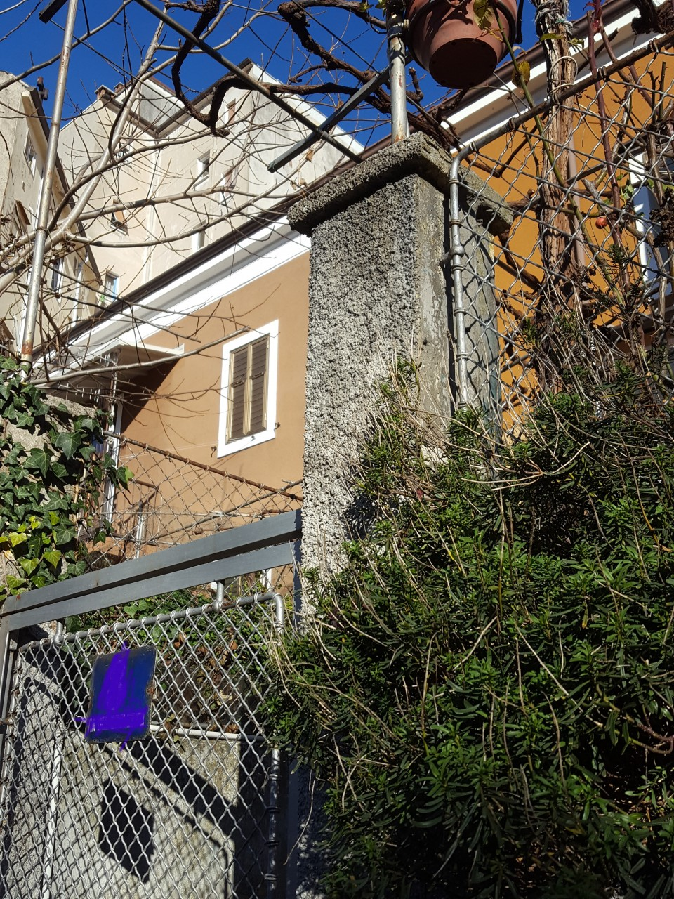 Casetta con due appartamenti e giardino home trieste - Giardino con brecciolino ...